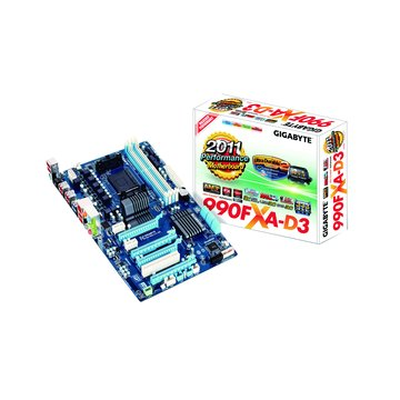 GIGABYTE 技嘉 990FXA-D3/AM3+ 主機板