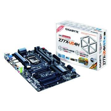 GIGABYTE 技嘉 Z77X-UD4H/Z77 主機板