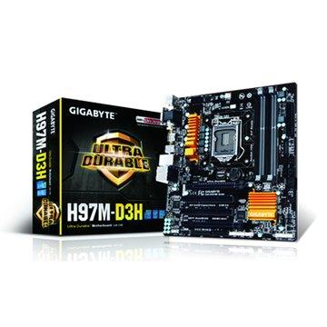GIGABYTE 技嘉H97M-D3H/1150 主機板