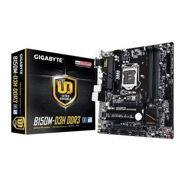 GIGABYTE 技嘉B150M-D3H DDR3/1151 主機板