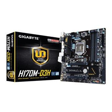 GIGABYTE 技嘉H170M-D3H/1151 主機板