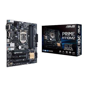 ASUS 華碩 PRIME H110M2 -PCI/COM PORT主機板