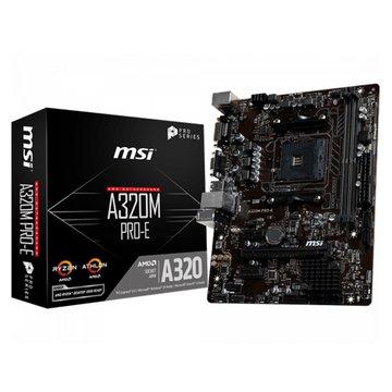 MSI 微星微星 A320M PRO-E/Micro ATX/AMD AM4