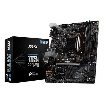 MSI 微星 B365M PRO-VH Intel 1151主機板