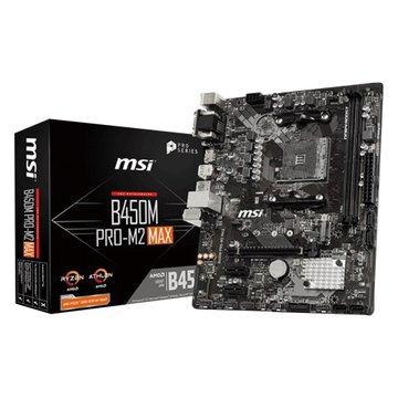 MSI 微星 微星 B450M PRO-M2 MAX (AMD AM4/m-ATX)4年保