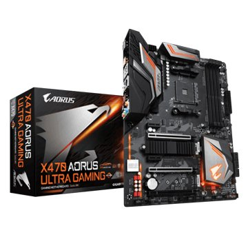 GIGABYTE 技嘉 X470 AORUS ULTRA GAMING/AM4/註五年