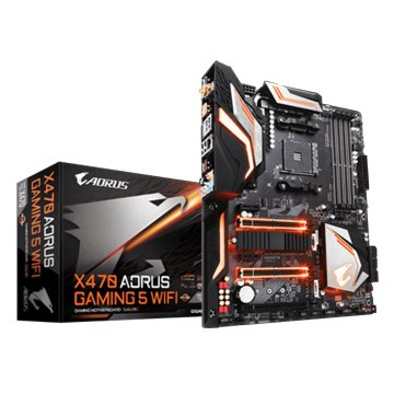 GIGABYTE 技嘉 X470 AORUS GAMING 5 WIFI/AM4/註五年
