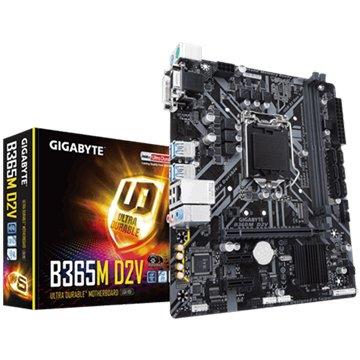GIGABYTE 技嘉 技嘉 B365M D2V 主機板(註四)