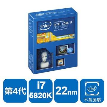 INTEL 英代爾Core i7-5820K/3.3G/六核心/2011無風扇