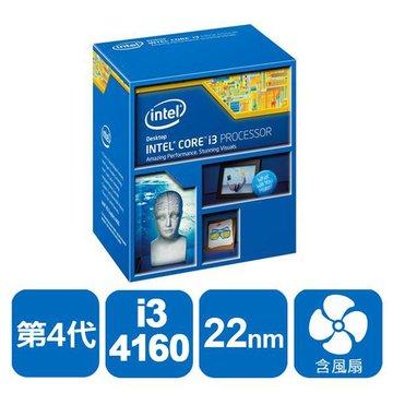 INTEL 英代爾 Core i3-4160/3.6GHz/雙核心/1150