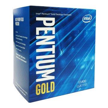 INTEL 英代爾 Pentium G5400/3.7GHz/雙核4緒1151V2