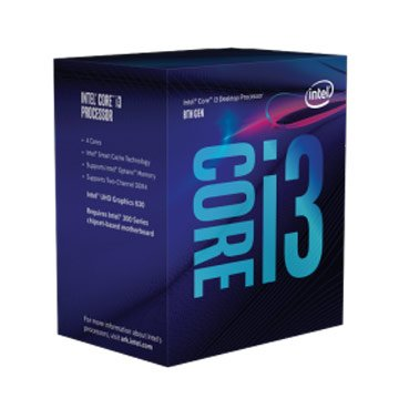 INTEL  Core I3-8300/3.7GHz /四核/LGA1151公司貨