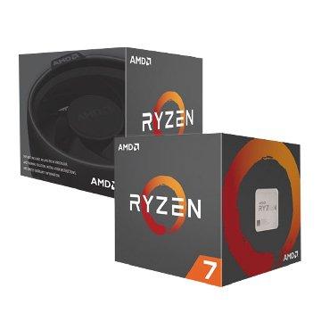 AMD 超微 RYZEN R7-1700/3.0~3.7GHz/八核心/AM4/無內顯