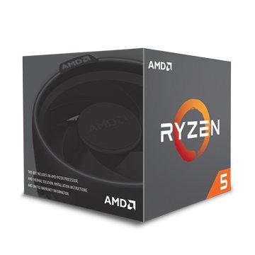 AMD 超微RYZEN R5-1600/3.2~3.6G六核AM4有風扇無內顯