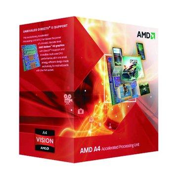 AMD 超微 APU A4-3300/2.5GHz/雙核心/HD6410D