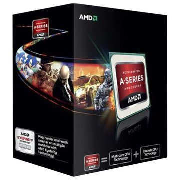 AMD 超微 FM2 APU A6-5400K/3.6G/雙核心/HD7540D