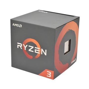 AMD 超微RYZEN R3-1200/3.1~3.4G四核/AM4有風扇無內顯