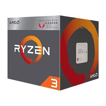 AMD  RYZEN R3-2200G/3.5~3.7G四核AM4有內顯