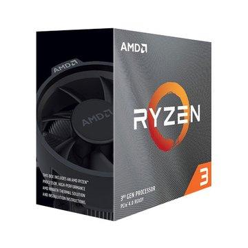 AMD 超微 R3-3100 3.6/3.9G 4核8緒(無內顯)7奈米