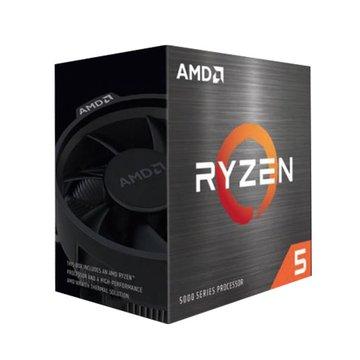 AMD 超微 R5-5600X 3.7GHz 6核12緒無內顯含風扇-7奈米