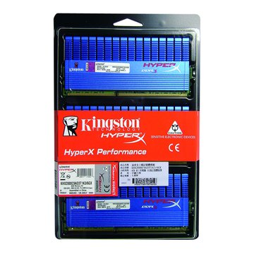 Kingston 金士頓 DDR3 2000 6G(2G*3)超頻 PC用