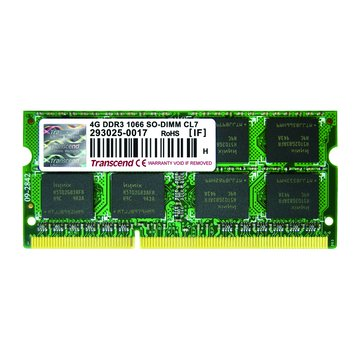 Transcend 創見 DDR3 1066 4G SO-DIMM NB用