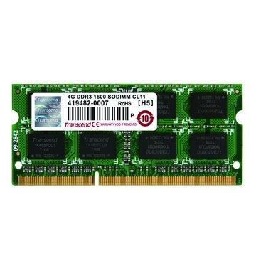 Transcend 創見 DDR3 1600 4G JETRAM SO-DIMM NB用