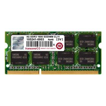 Transcend 創見DDR3 1600 8G SO-DIMM NB用