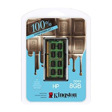Kingston 金士頓 DDR3L 1600 8G HP NB用(1.35V)