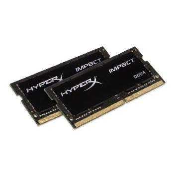 Kingston 金士頓 DDR4 2400 16G(8G*2)HyperX NB用