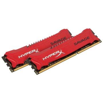 Kingston 金士頓 金士頓 DDR3 1600 8G(4G*2) HyperX 紅