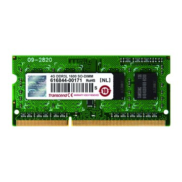 Transcend 創見DDR3L 1600 4G SO-DIMM NB用(1.35V)