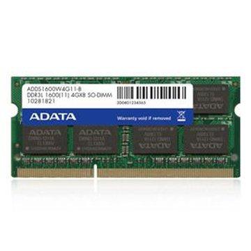 ADATA 威剛 DDR3L 1600 4G SO-DIMM NB用(1.35V)