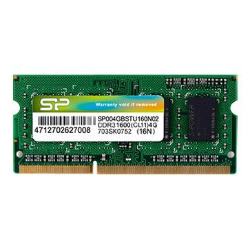 SILICON POWER DDR3 1600 4G SO-DIMM NB用