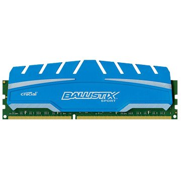 Micorn 美光 DDR3 1866 8G 超頻 PC用(藍)