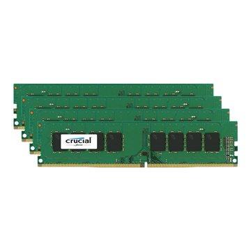 Micorn 美光 DDR4 2400 32G(8G*4) PC用