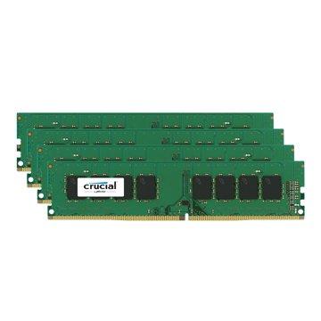 Micorn 美光 DDR4 2400 64G(16G*4) PC用(捷元公司貨)