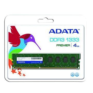 ADATA 威剛 DDR3 1333 4G PC用(白威)