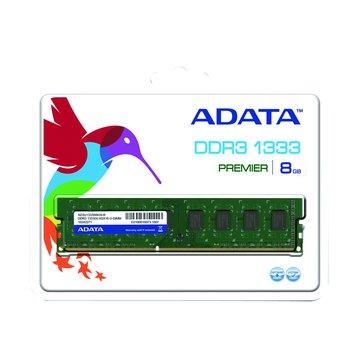 ADATA 威剛 DDR3 1333 8G PC用
