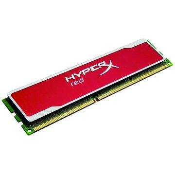 Kingston 金士頓 DDR3 1600 8G(4G*2)超頻PC用(限量紅