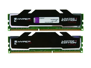 Kingston 金士頓 DDR3 1600 8G(4G*2)超頻 PC用(黑)