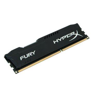 Kingston 金士頓 DDR3 1866 8G HyperX FURY超頻(黑)