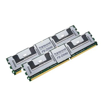 Transcend 創見 DDR2 667 4G(2G*2)ECC hpG5/4Server用
