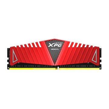 ADATA 威剛 XPG Z1 DDR4 2400 8G超頻PC用(紅散熱片