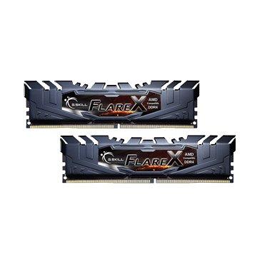 G.SKILL 芝奇 烈燄槍DDR4 2400 16G(8G*2for AMD-黑