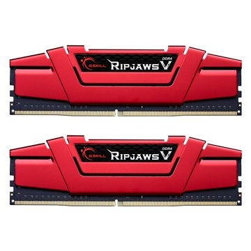 G.SKILL 芝奇 RipjawsV DDR4 2400 16G(8G*2)-紅
