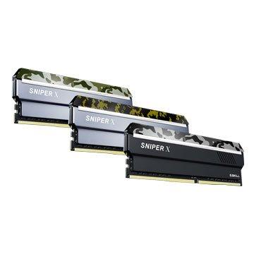 G.SKILL 芝奇 Sniper X DDR4 2400 16G(8G*2)PC用-航艦白