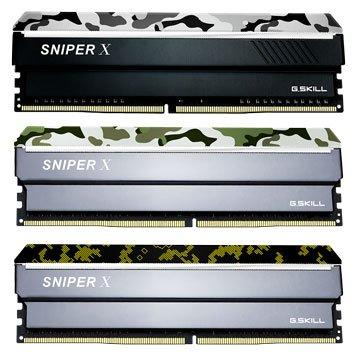 G.SKILL 芝奇 Sniper X DDR4 3000 16G(8G*2)PC用-航艦白