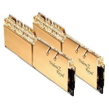 G.SKILL Trident Z Royal 皇家戟 DDR4 3000 16GB(8G*2)-金