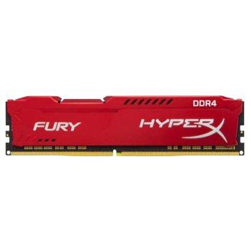 Kingston 金士頓 DDR4 2666 8G HyperX FURY PC用 (紅